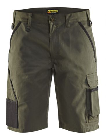 "CLEARANCE Blaklader 1464 Garden Shorts (Army Green) C46 32""W"